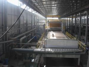 September 2009 gorgeous paper 3800 long net paper machine high successful operation
